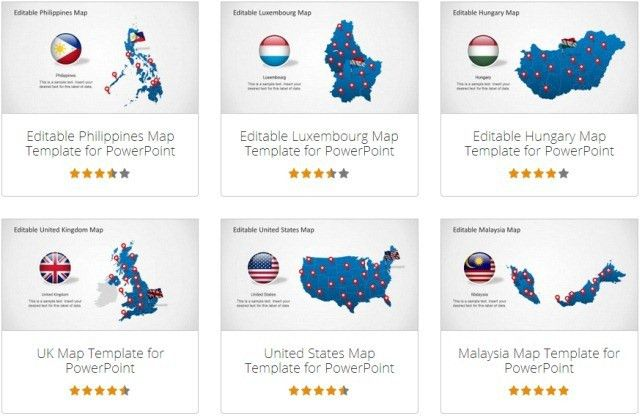 Make Sales Plans With Editable Territory Maps for PowerPoint