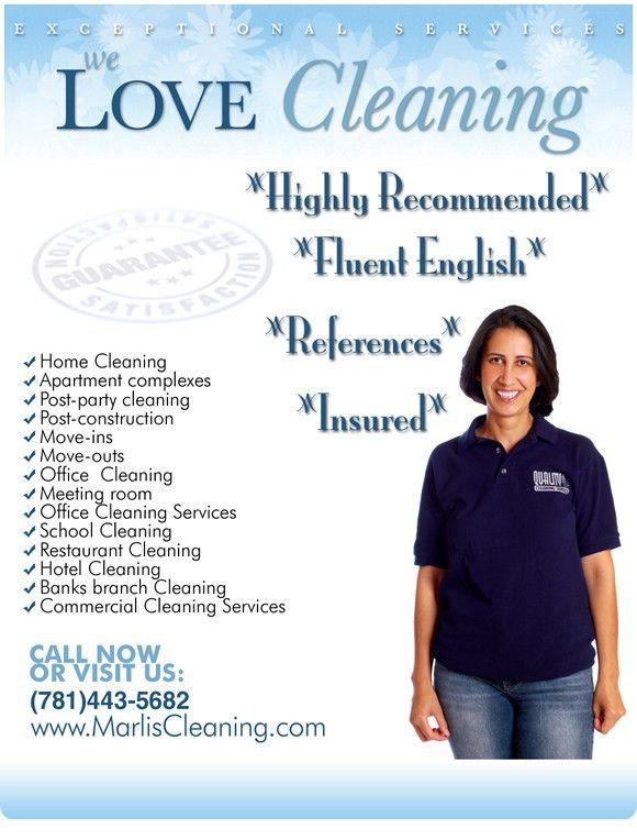 House Cleaning Services Boston Brookline Cambridge Allston Brighton MA