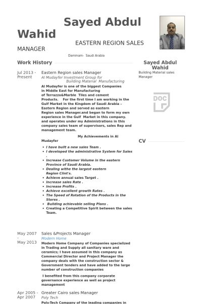 Projects Manager Resume samples - VisualCV resume samples database