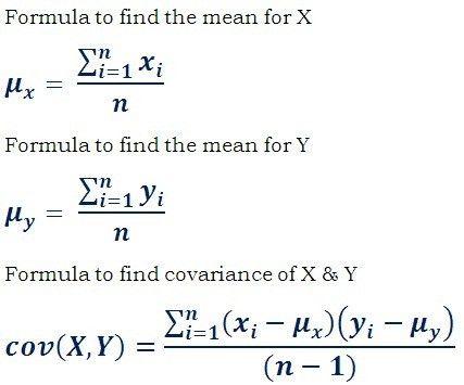 Covariance Formula, Example & Calculator