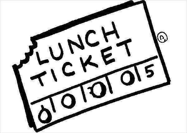 7+ Luncheon Ticket Templates - Free PSD, AI, Vector EPS Format ...