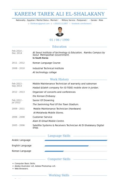 Salesman Resume samples - VisualCV resume samples database