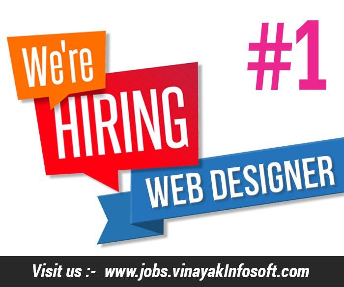 WEB DESIGNER JOBS IN AHMEDABAD – URGENLY NEED WEB DESIGNER HAVING ...