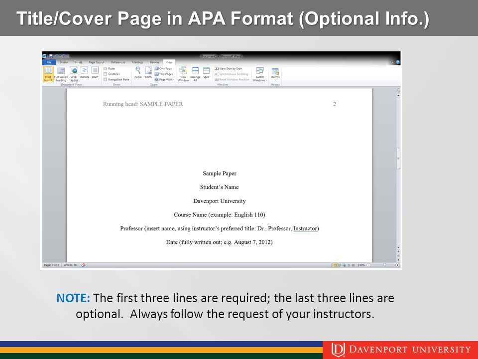 Student Guide to APA 6th edition ppt video online download