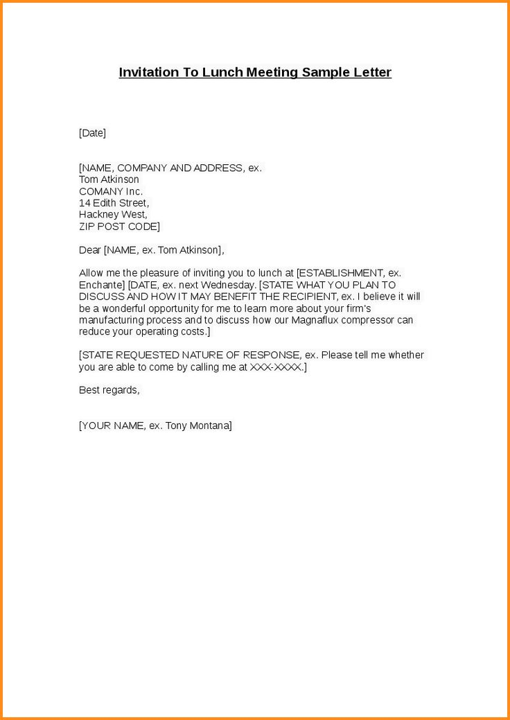 9+ lunch invitation email | mac resume template