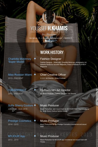 Diseñador De Modas Ejemplo de currículum - Base de datos de ...