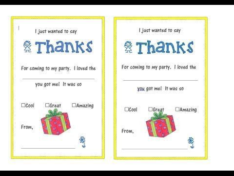 How To Make A Thank You Card In Word | Samples.csat.co