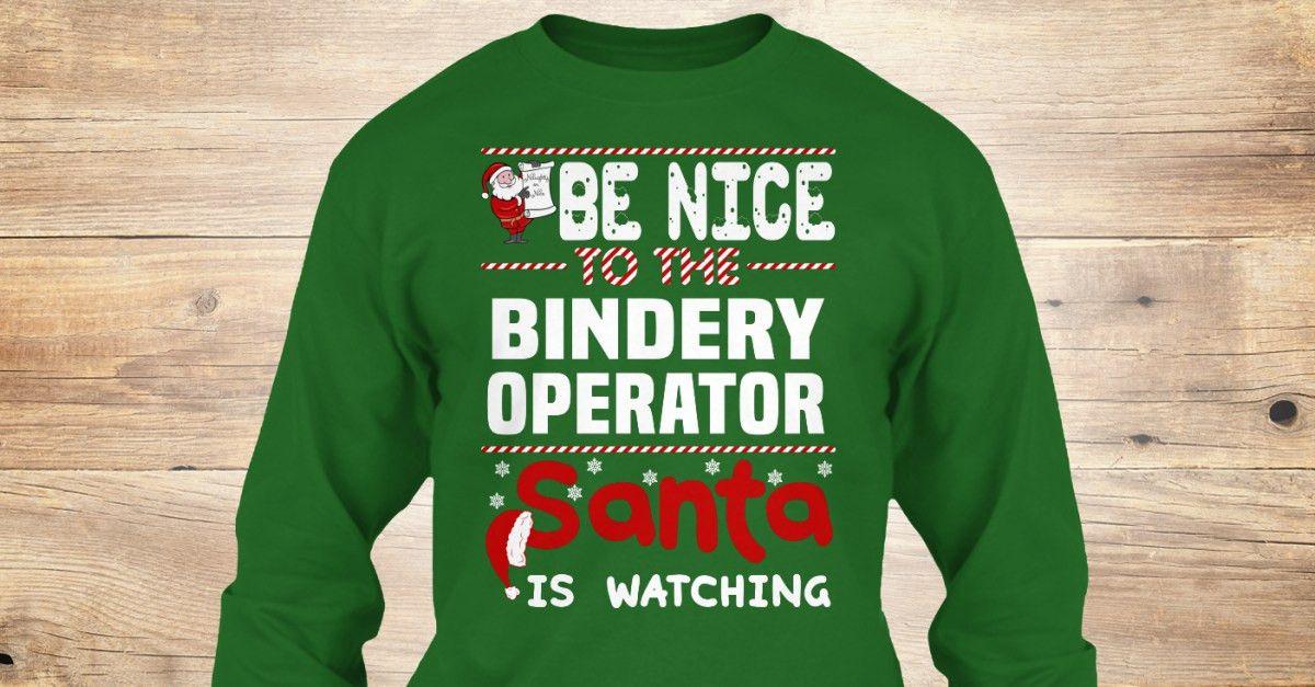 Bindery Operator | Xmas