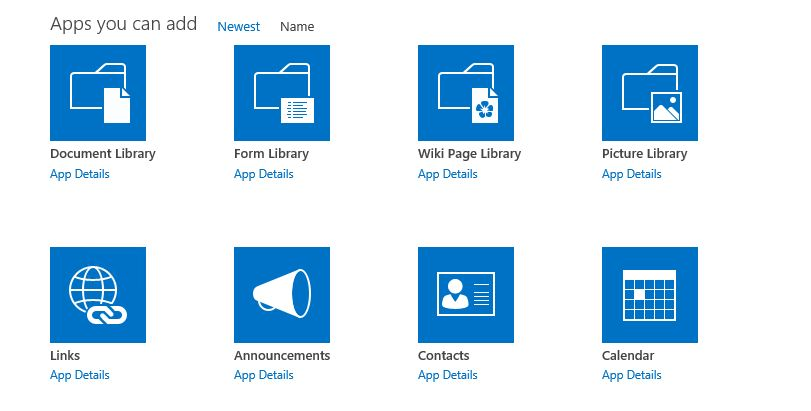 What do the different SharePoint icons mean? - SharePoint Stack ...