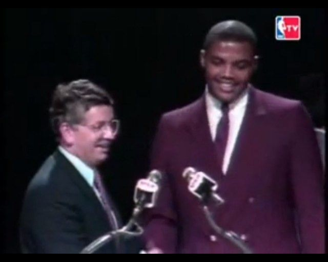 Charles Barkley on '84 Draft Day Suit: 'Man, burgundy was my ...