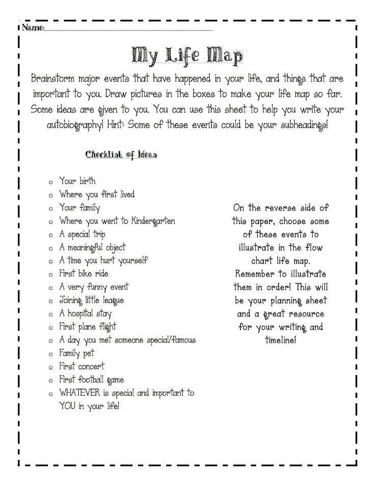 Best 25+ Autobiography writing ideas on Pinterest | Autobiography ...