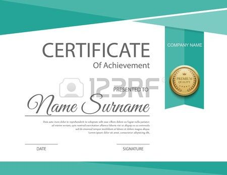Certificate Template Stock Photos. Royalty Free Certificate ...
