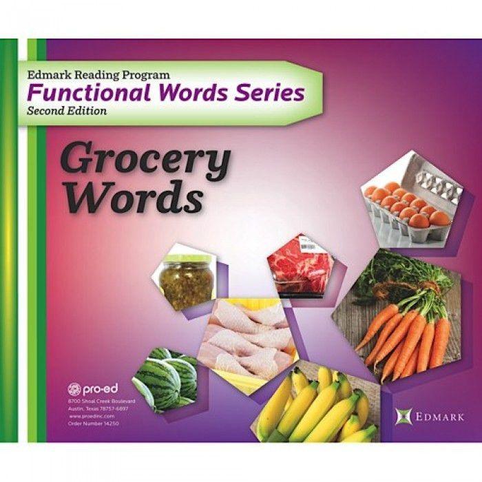 Functional Word Series: Grocery Words - Pro-Ed, Inc - Brands