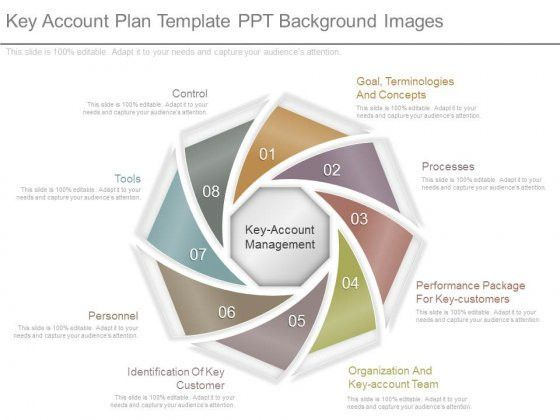 Key Account Plan Template Ppt Background Images - PowerPoint Templates