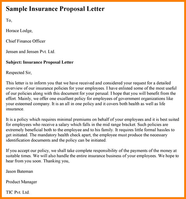 10+ advertising proposal letter sample | Proposal Template 2017