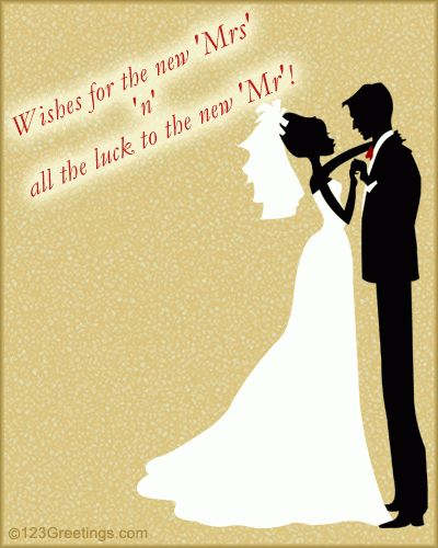Wishes Card On Wedding. Free Wishes eCards, Greeting Cards | 123 ...