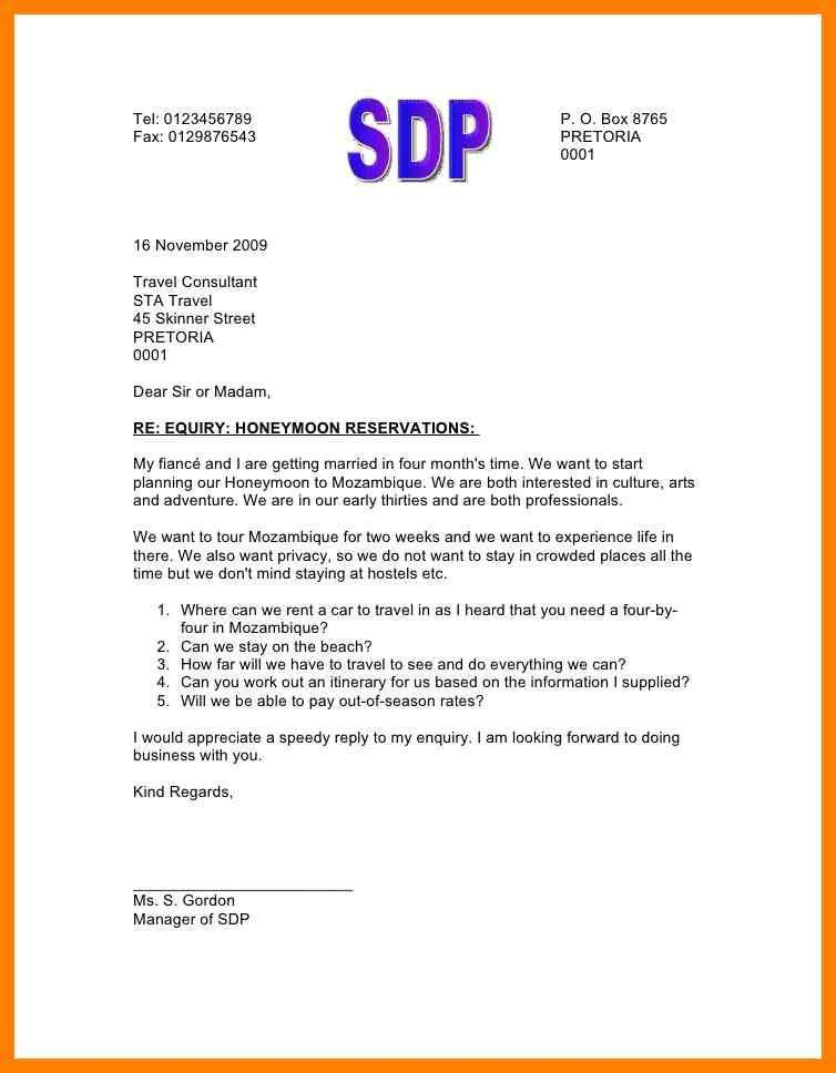 6+ letter of inquiry   childcare resume