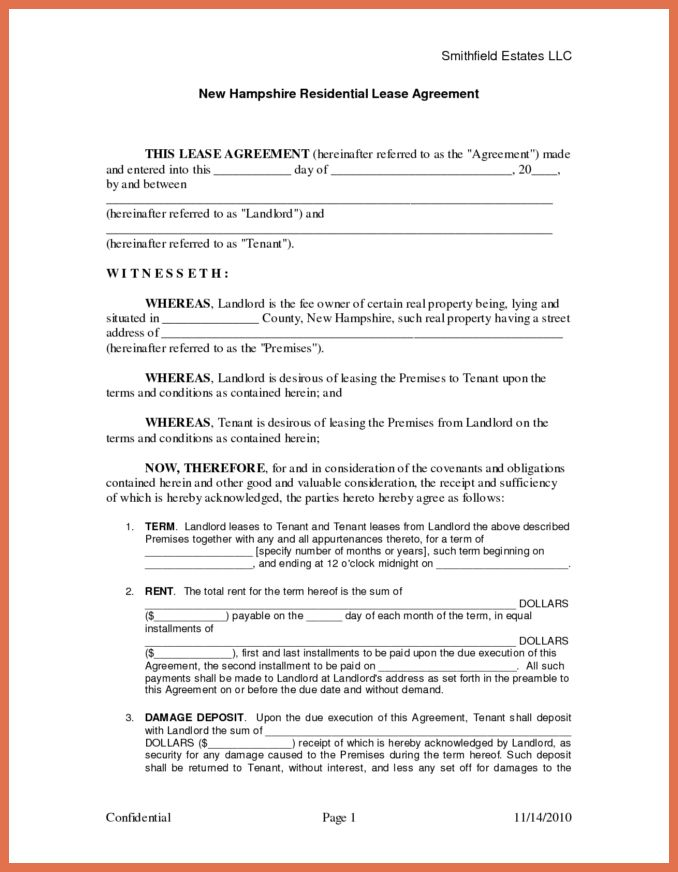 free printable rental agreement forms | bio example