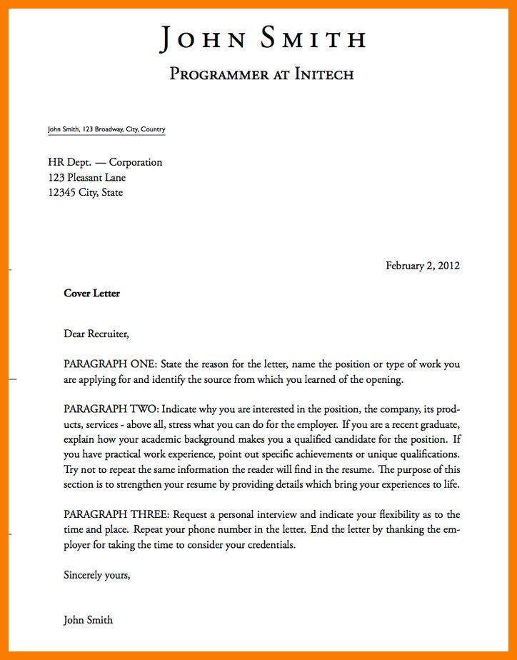 10+ cover letter introduction | park-attendant