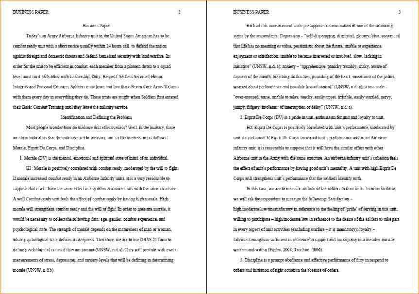 10 page research paper example - Business Proposal Templated ...