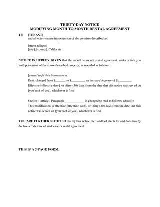 California Landlord and Tenant Notice Forms | Legal Forms and ...
