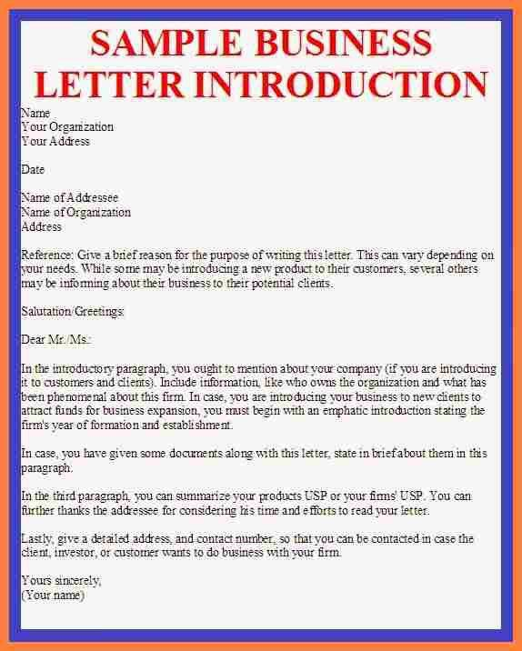 Introduction letter to clients sample business introduction letter to new clients juzdeco spiritdancerdesigns Images