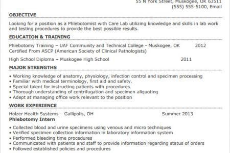 sample phlebotomist resume phlebotomist resume sample phlebotomy