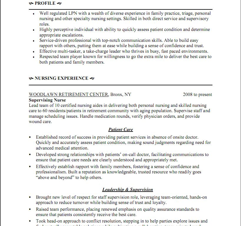 Splendid Lpn Resume 7 Sample Nurse Resume Lpn Ahoy - Resume Example