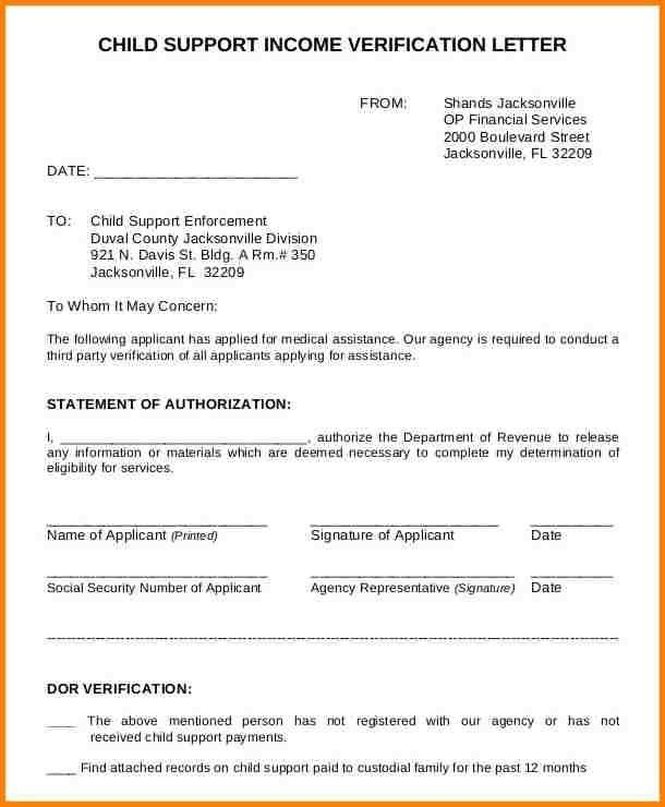 Sample Declaration Letter For Child Custody | Best Business Template