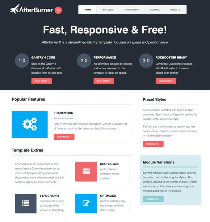 20 Best FREE Responsive Joomla Templates to Build Awesome Websites ...
