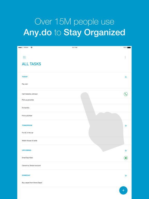 Any.do: To-do list & Calendar on the App Store