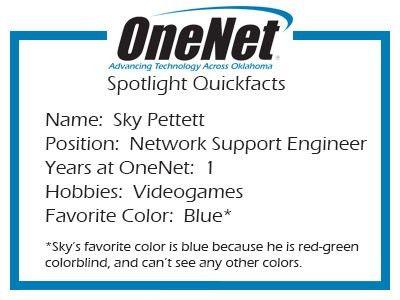 OneNet's Network Engineer   OneNet