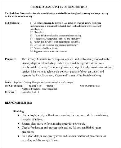 stocker job description resume cv cover letter 517 best images ...