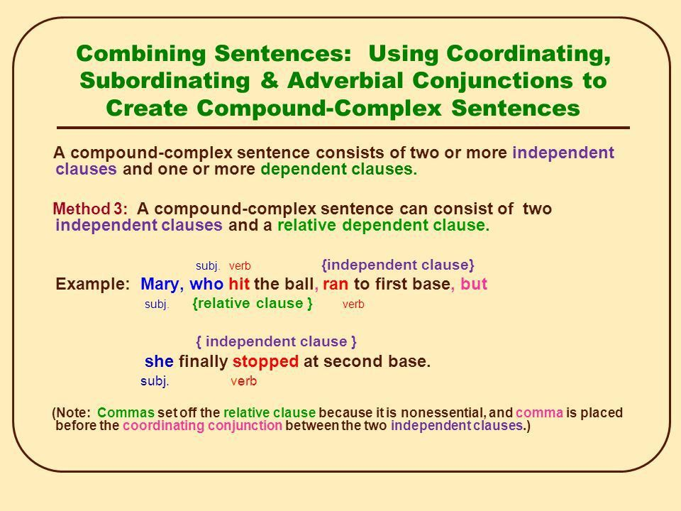Sentence Combining. - ppt video online download