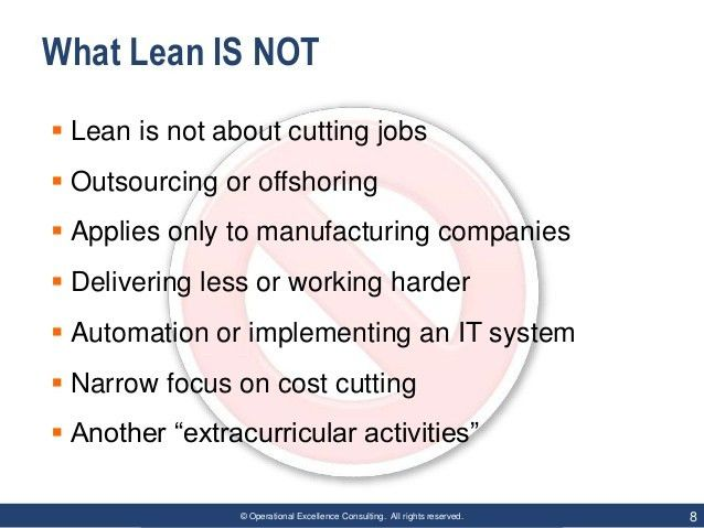 Lean IT Services by Operational Excellence Consulting