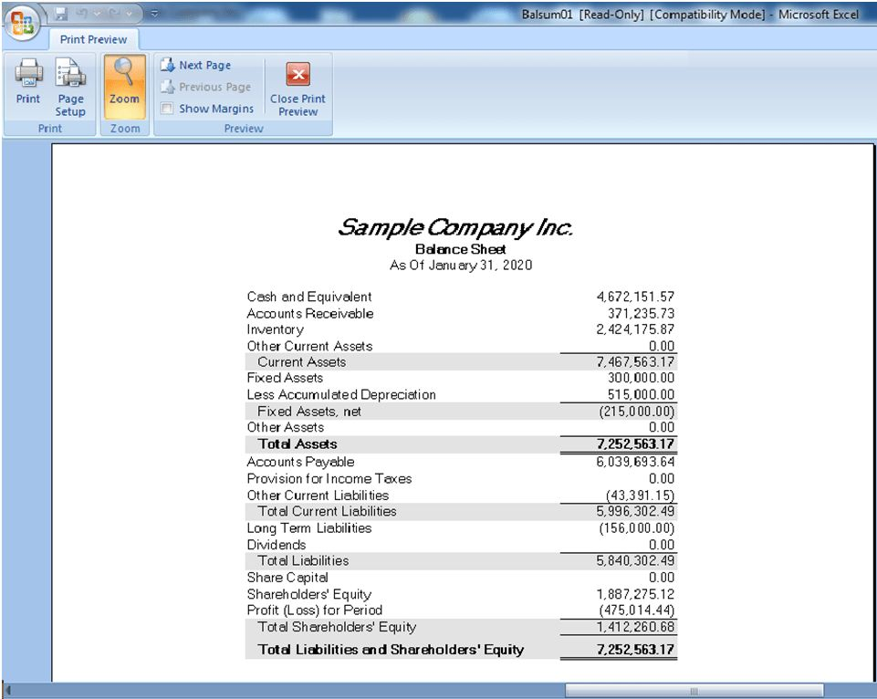 Financial Reporter in General Ledger Module of Sage 300 ERP – Sage ...