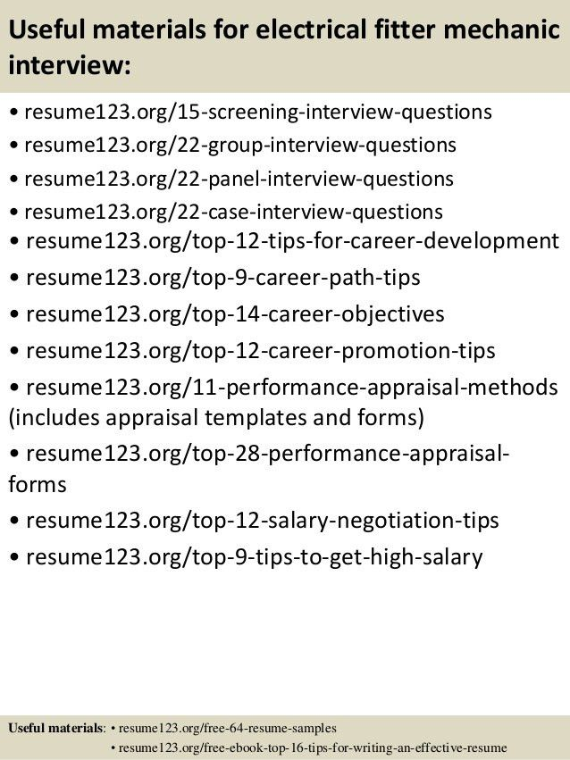 electrician resume electrician resume2 electrician resume3 ...