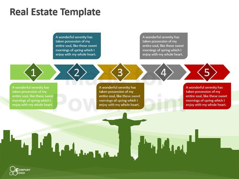 Real Estate – Editable PowerPoint Template
