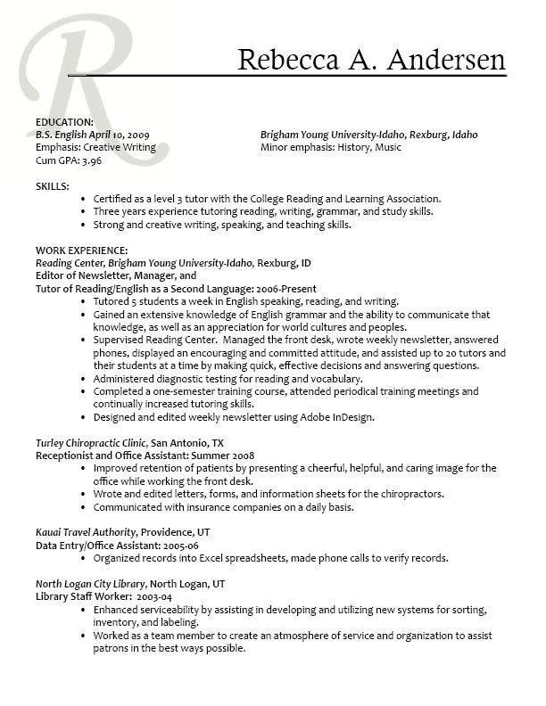 Personal Trainer Resume Template. Elite Personal Trainer Resume ...
