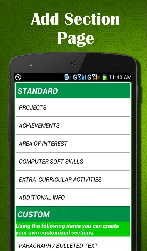 Easy Resume Builder, CV Jobs, Resume Maker Free - Android Apps on ...