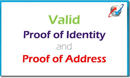 BSNL Valid Documents (Proof of Identity/Address) for New BSNL Service