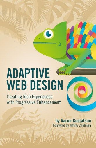 Adaptive Web Design book cover | Veerle's blog 3.0