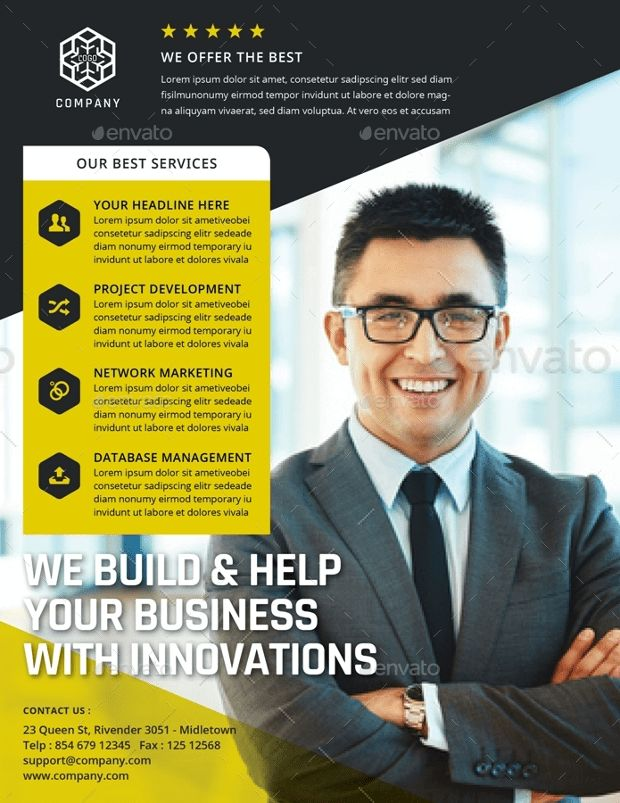 21+ Corporate Flyer Designs and Templates Download   Design Trends ...