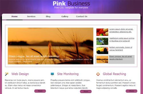 templates free download for websites in html templates free ...