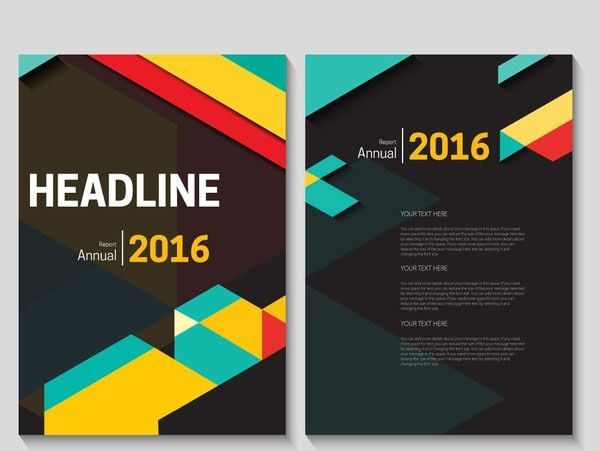 Annual Report Cover Page Template – Annual Report Cover Page Template