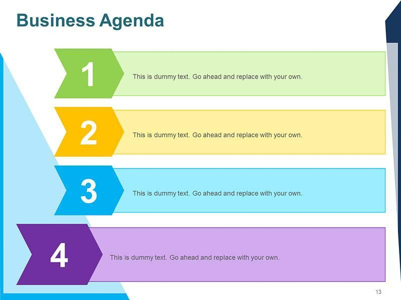 Agenda Template Powerpoint | Template Design