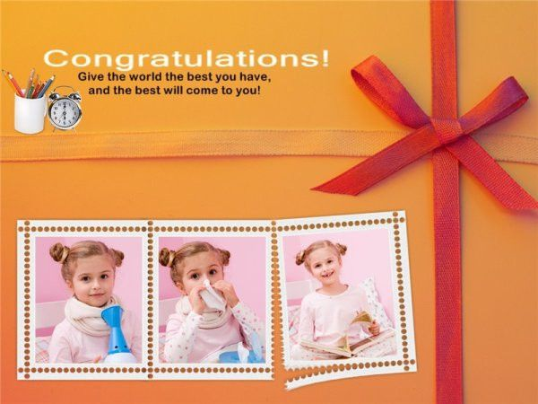 Congratulations Collage / Card Add-on Templates - Download Free