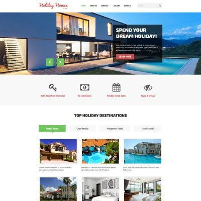 Home Rent Website Template