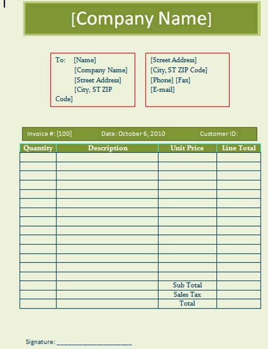 Free Business Templates - Microsoft Word Templates
