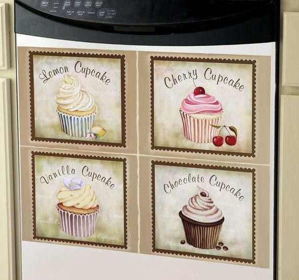 Cupcake Kitchen Decorative Dishwasher Cover Large - Ad#: 2013405 ...